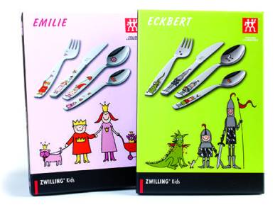 Zwilling Kids flatware set, available at Cook Culture. $25 each