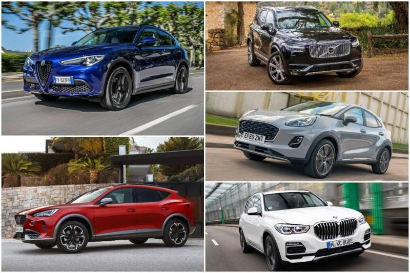 Los mejores SUV del mercado 2021