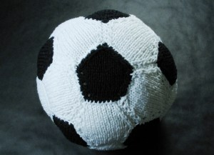 Knitted Soccer Ball