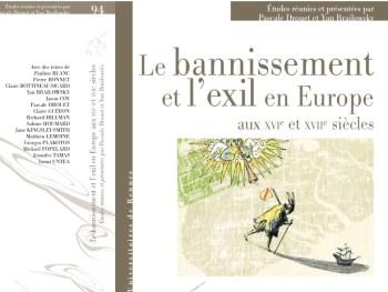 Le Bannissement et l'exil en Europe aux XVIe et XVIIe siècles