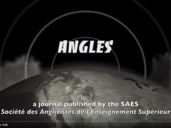 Angles: New Perspectives on the Anglophone World