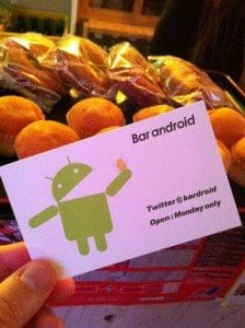 Gingerbread di Bar Android 1