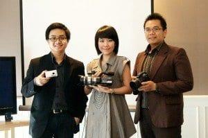Sony luncurkan Handycam VG10E, Cybershot WX5, Alpha A33 dan A55