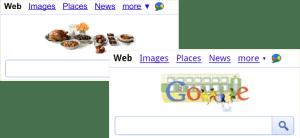 Google Doodle di Mobile Browser 1