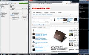 Browser, instant messenger, dan download manager