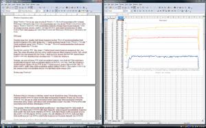 OpenOffice Writer dan OpenOffice Calc adalah word processor dan spreadsheet open source untuk Windows, Linux dan MacOS X.