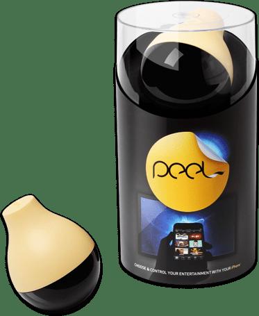 Peel-The fruit: Mengubah iPhone Menjadi Remote Universal Home Theater