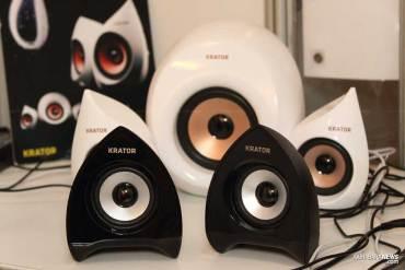 Krator: Jajaran multimedia speaker terbaru dari produsen Taiwan 15