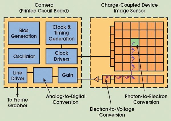 Perbedaan Antara Sensor Gambar CCD dan CMOS di Kamera Digital 16 sensor