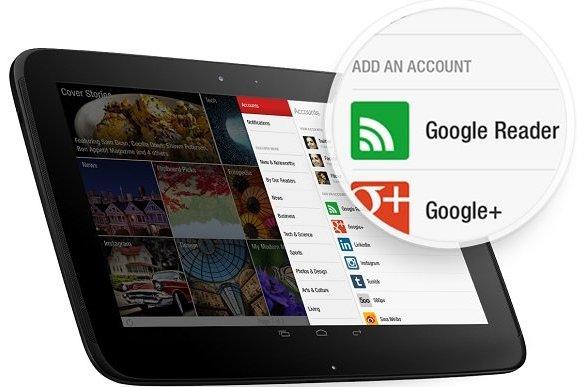 Flipboard Google Reader