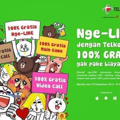 Telkomsel Line