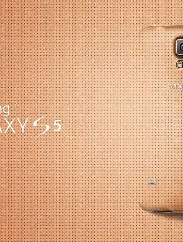 samsung Glam Galaxy S5 Gold 01