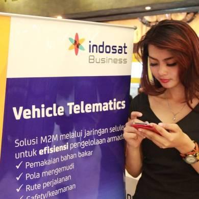 indosat m2m vehicle telematics