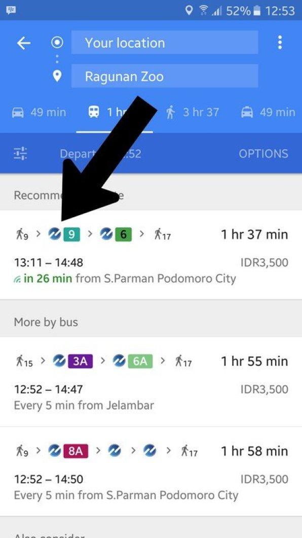 Google Maps bus TransJakarta (4)
