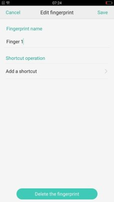 Oppo F1s Flash Touch Access (1)