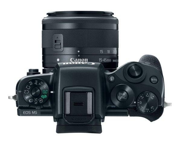 Canon EOS M5 Mirrorless APS-C DSLR Camera 03