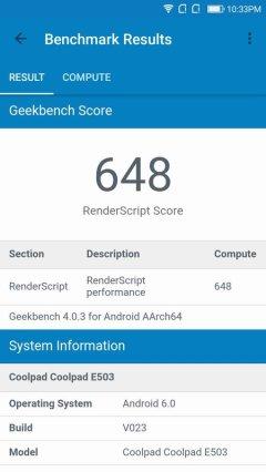 Coolpad Fancy 3 Geekbench 4 (2)