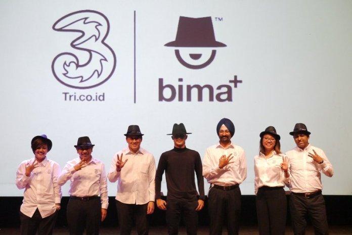 Tri Luncurkan Bima+, Aplikasi untuk Promosikan Produk Kreatif Karya Anak Bangsa