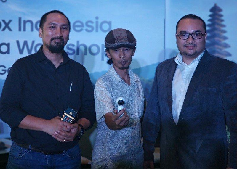 Samsung Gear 360 dan Samsung DeX 5