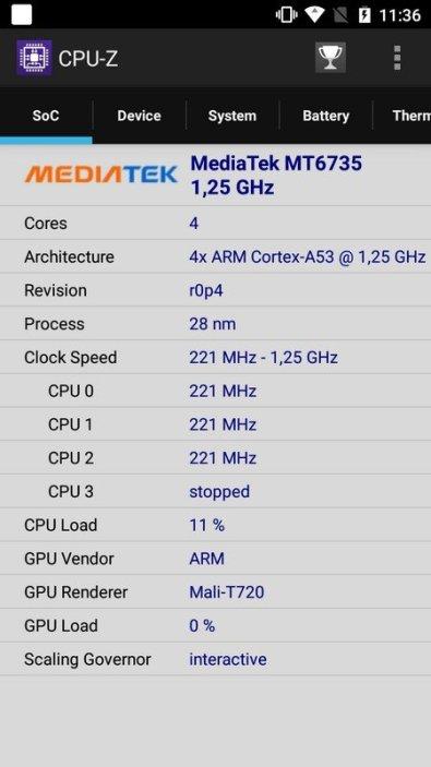 Moto E4 CPU Z (1)