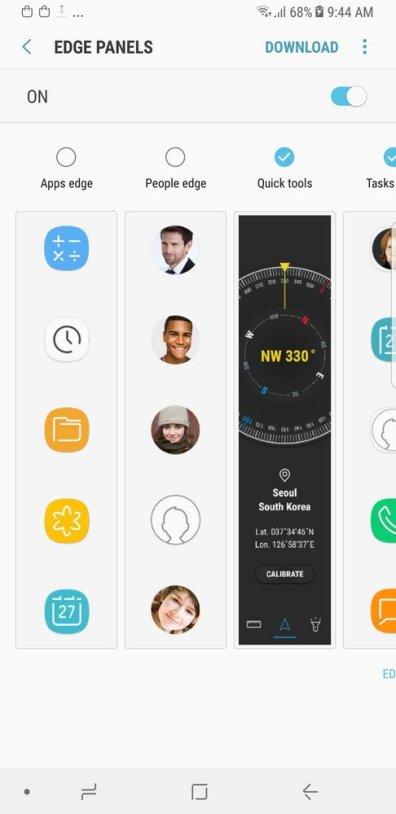 Galaxy Note8 Edge Screen (2)