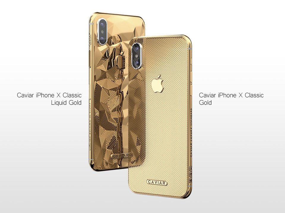 Caviar Luncurkan Duo iPhone X Berlapis Emas 24K Seharga 62 Jutaan Rupiah 11