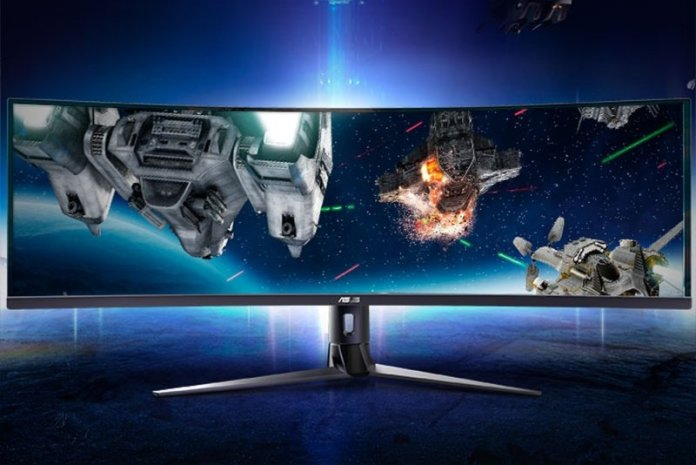 ASUS VG49V, Monitor Gaming 49 inci Dengan Resolusi 3840×1080 & FreeSync