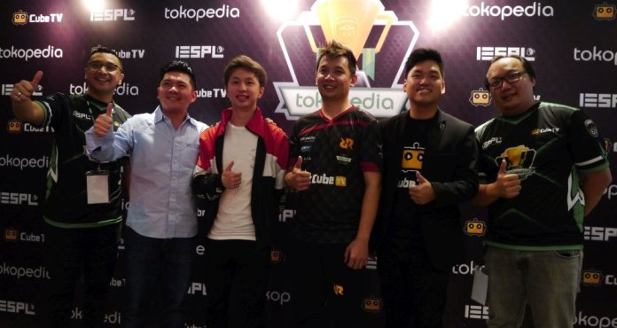 IESPL Bersama Tokopedia & Cube TV Resmikan Liga Esports Tokopedia Battle of Friday 2