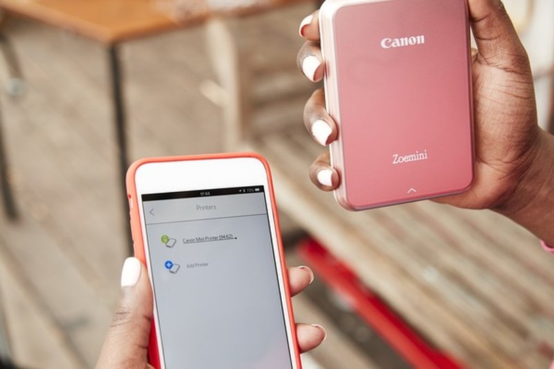 Canon Zoemini: Ringkas dan Praktis dengan Teknologi Cetak Tanpa Tinta
