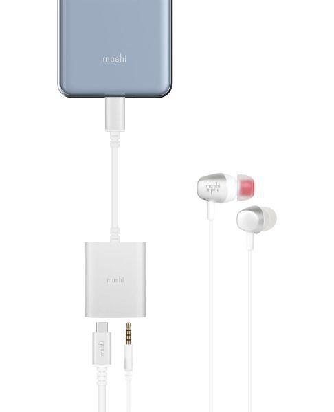Moshi USB-C Digital Audio Adapter with Charging: Bisa Isi Ulang Baterai Sambil Mendengarkan Musik 19 harga, moshi, Moshi USB-C Digital Audio Adapter with Charging, spesifikasi