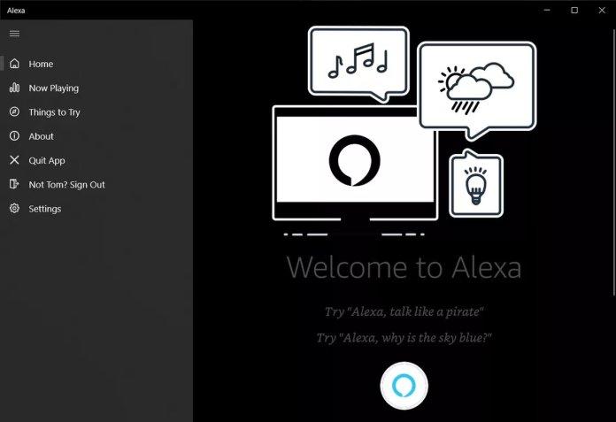 Alexa Resmi Hadir di Semua PC Windows 10