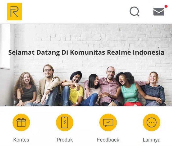 Realme Indonesia Hadirkan Aplikasi Khusus untuk Komunitas