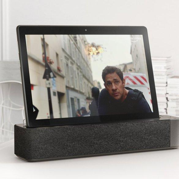 [CES 2019] Lenovo Smart Tabs: Tablet Android yang Dilengkapi Docking Speaker Pintar 10