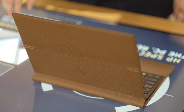 HP Spectre Folio leather launch