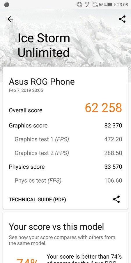 Asus ROG Phone 3D Mark (2)