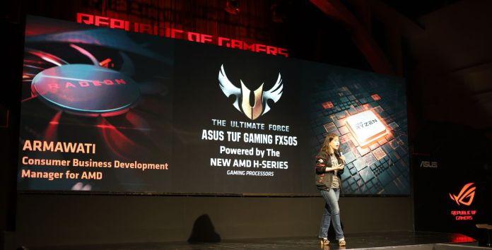 Dijual 11 Jutaan Rupiah, ASUS TUF Gaming FX505DY Unggulkan AMD Ryzen seri H dan Bodi Berstandar Militer 1