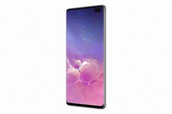 Samsung Galaxy S10+ depan samping