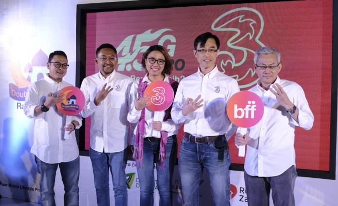 3 Indonesia Gelar Program Ramadan Dobel Berkah untuk Wujudkan Semangat Wirausaha dan Berbagi Kebaikan