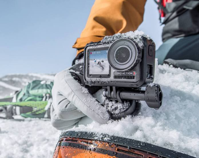 DJI Osmo Action: Kamera Aksi Perdana DJI, Penantang GoPro HERO7 Black 1
