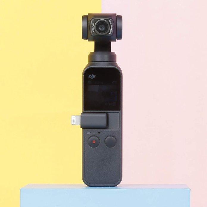 Ulanzi OP-5: Aksesoris Lensa Wide Angle untuk DJI Osmo Pocket 1