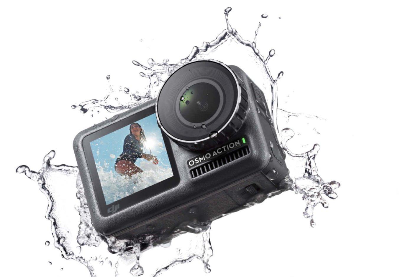 DJI Osmo Action: Kamera Aksi Perdana DJI, Penantang GoPro HERO7 Black