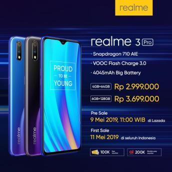 preorder realme 3 pro indonesia 2019