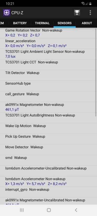 Galaxy A70 CPU Z (1)