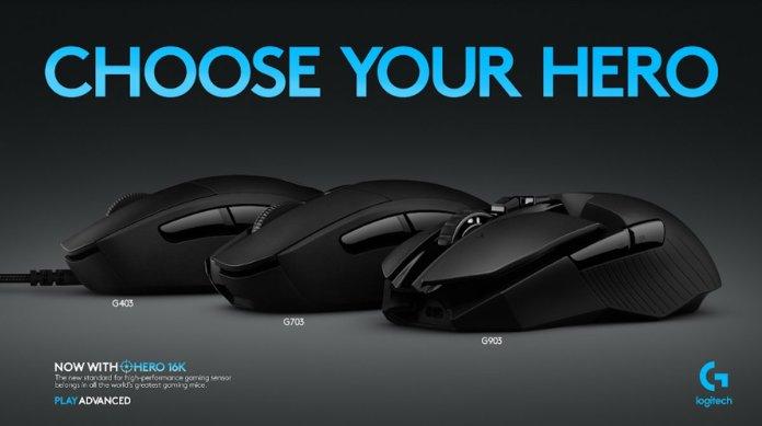 Logitech G903 Lightspeed, G703 Lightspeed dan G403 HERO: Trio Mouse Gaming dengan Sensor HERO 16K yang Revolusioner 1