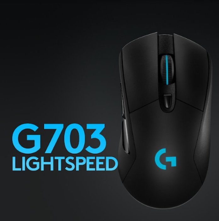 Logitech G903 Lightspeed, G703 Lightspeed dan G403 HERO