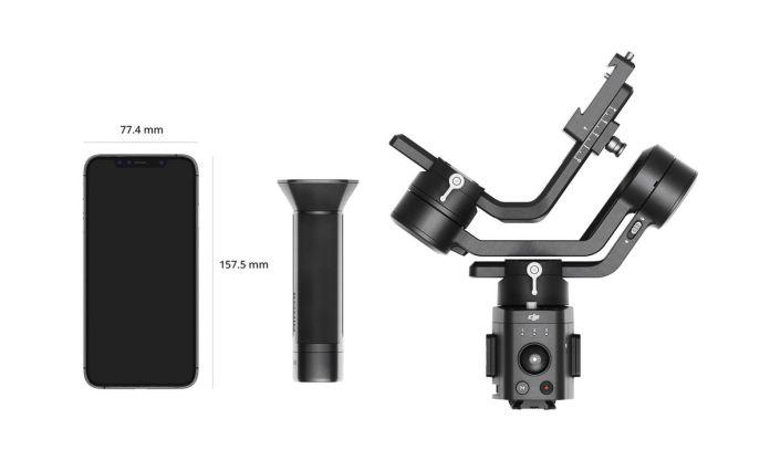 DJI Ronin-SC: Gimbal 3 Axis yang Ringkas dan Ringan Untuk Kamera Mirrorless 2