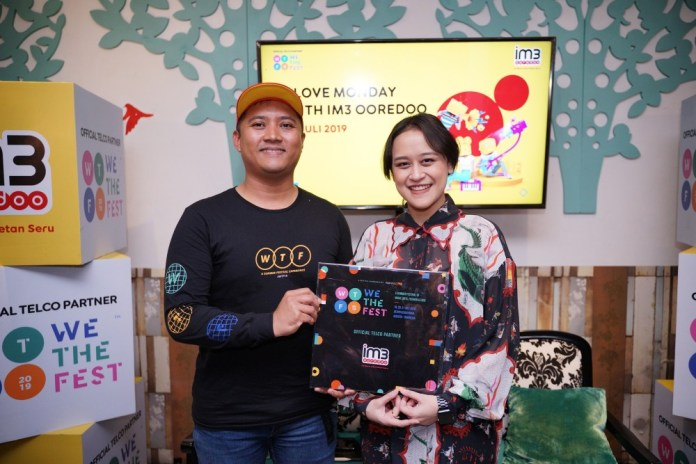 Jadi Official Telco Partner, IM3 Ooredoo Siap Hadirkan Unlimited Experience di We The Fest 2019