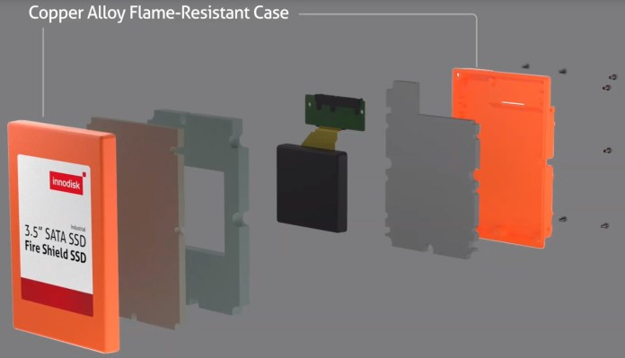 Innodisk Fire Shield SSD: SSD Tangguh yang Tahan Api 2