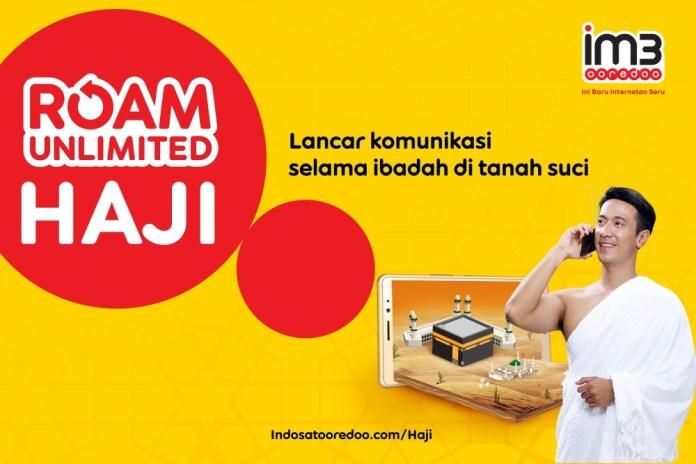 Harga Mulai 275 Ribu Rupiah, IM3 Ooredoo Rilis Paket Roam Unlimited Haji 1