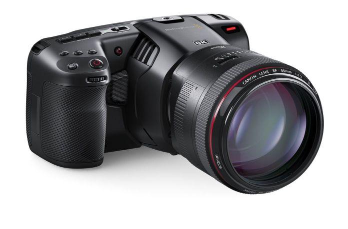 Blackmagic Design Pocket Cinema Camera 6K: Kamera Khusus Video dengan Sensor 6K Super 35 dan Mendukung Lensa Canon EF